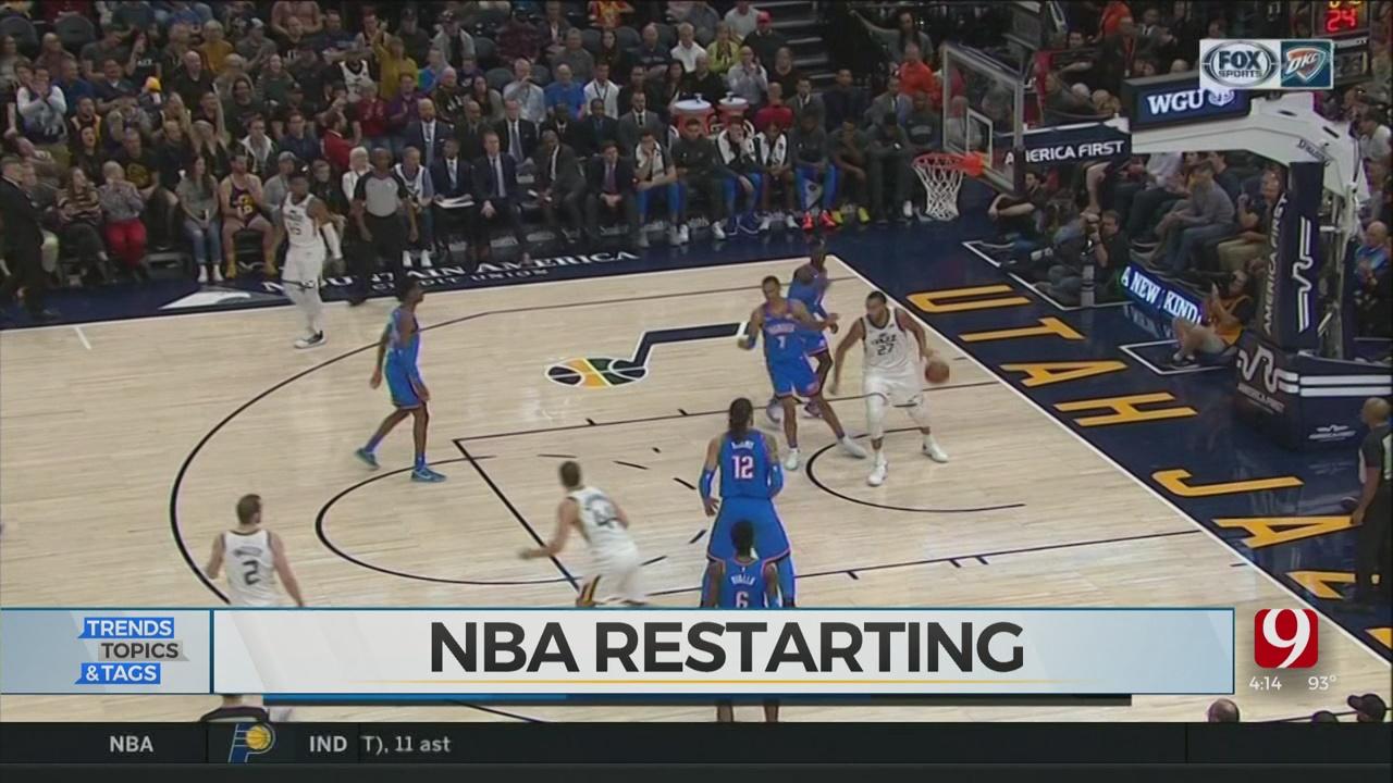 Trends, Topics & Tags: NBA Restarting