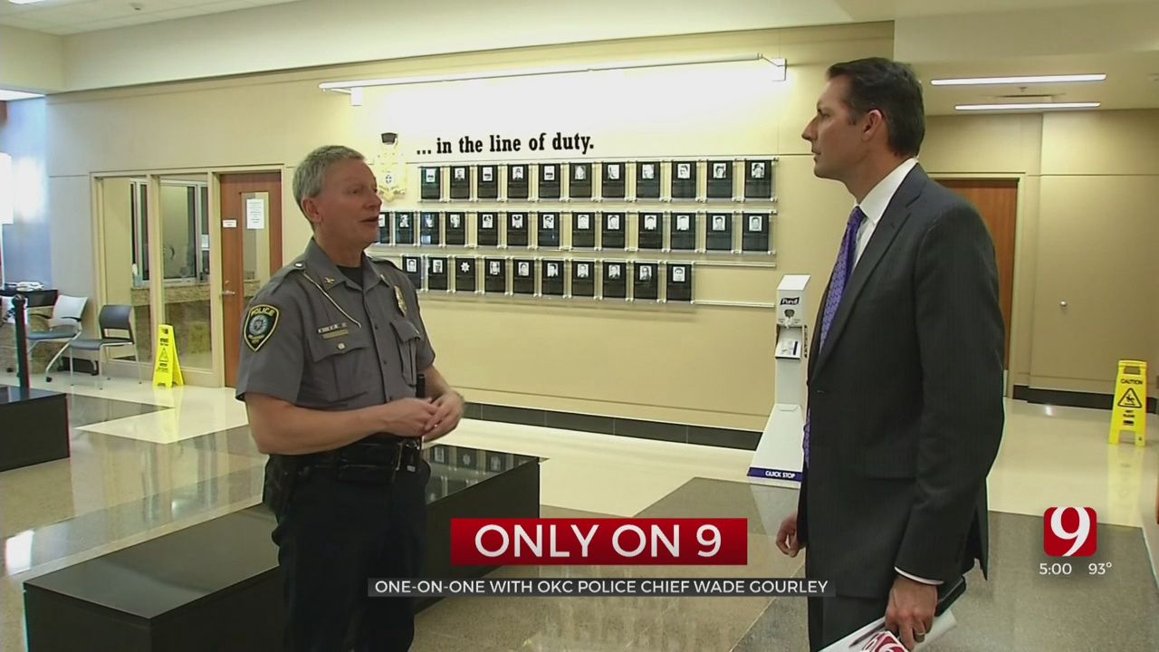 Only On 9: OKC Police Chief Gourley Responds To Resignation Demands