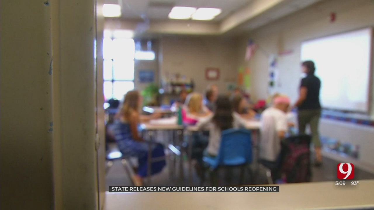 State Department Of Education Releases Framework For Reopening Of Schools