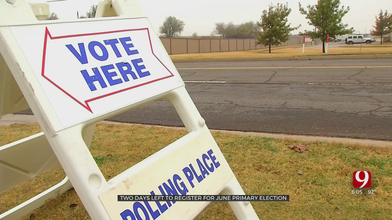 Time Running Out To Register To Vote