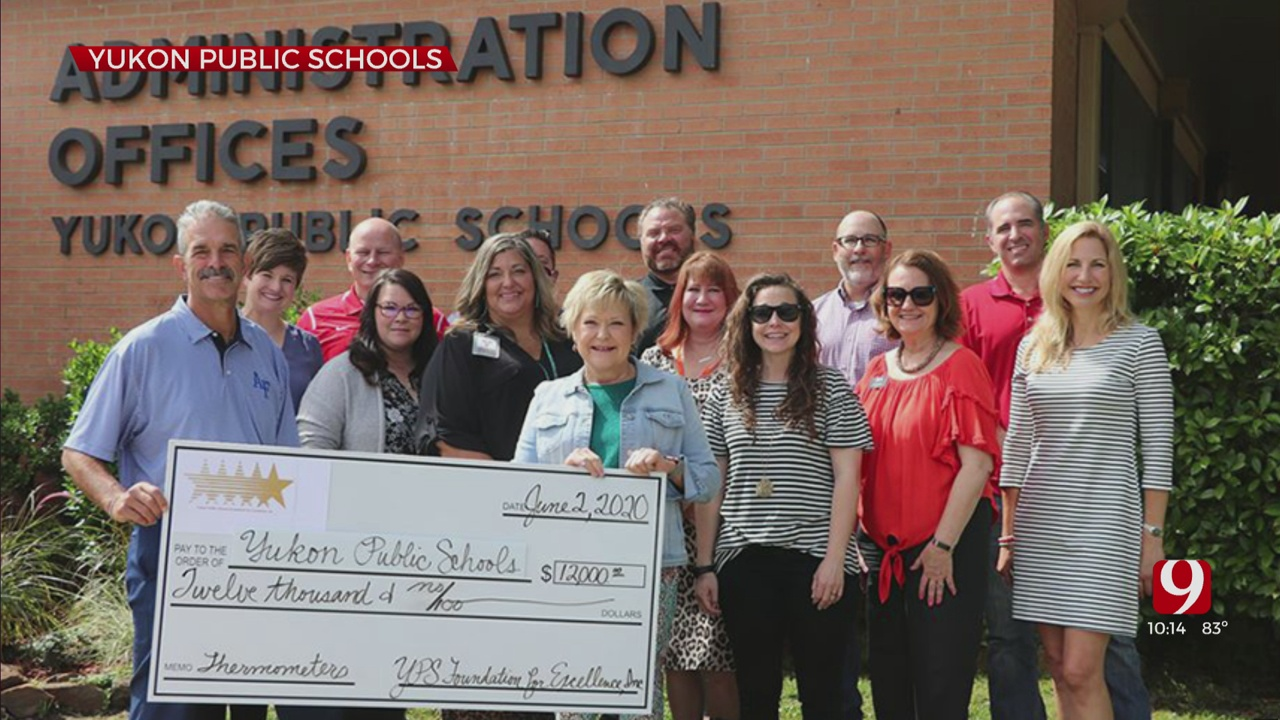 Yukon Public School Foundation Donates $12K To School District