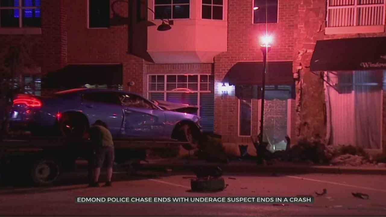 Edmond Police Investigate Overnight Pursuit Involving 12-Year-Old Suspect