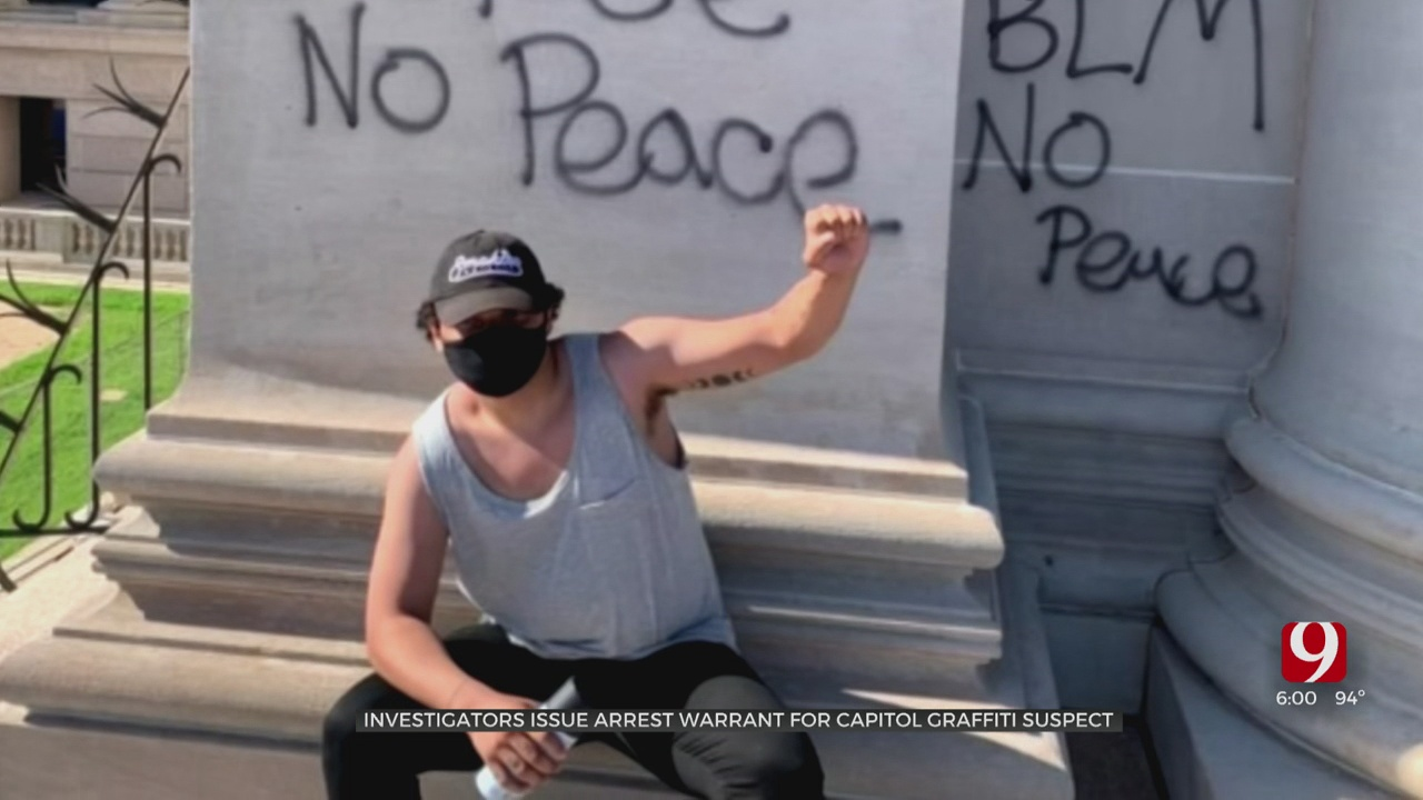 Arrest Warrant Issued For Accused Capitol Vandal