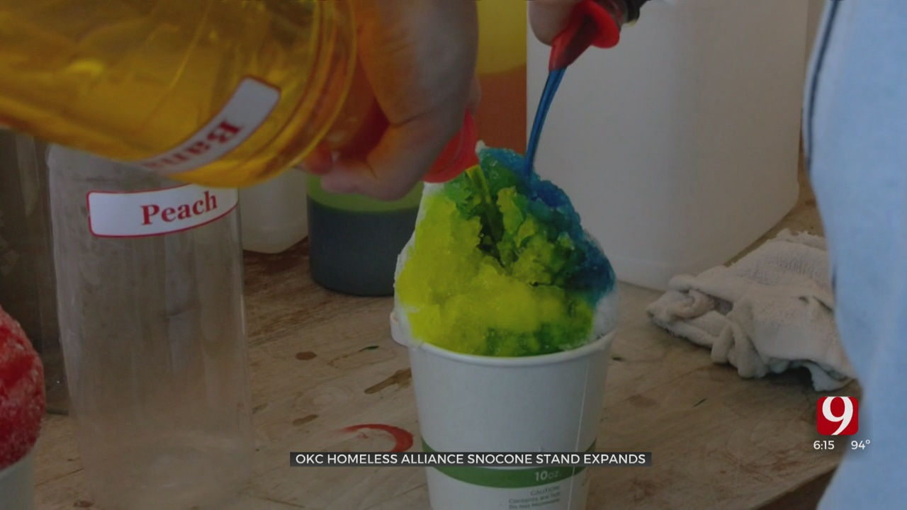 Oklahoma Together: Snow Cone Stand Employing Youth Set To Expand