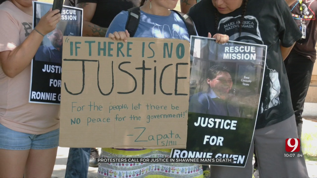 Protests Rekindle Calls For Charges After Native American Man's Death