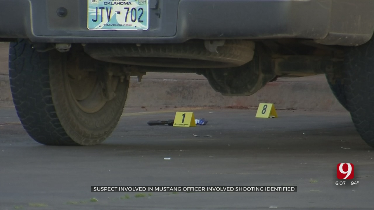 Suspect Identified In Mustang Officer-Involved Shooting