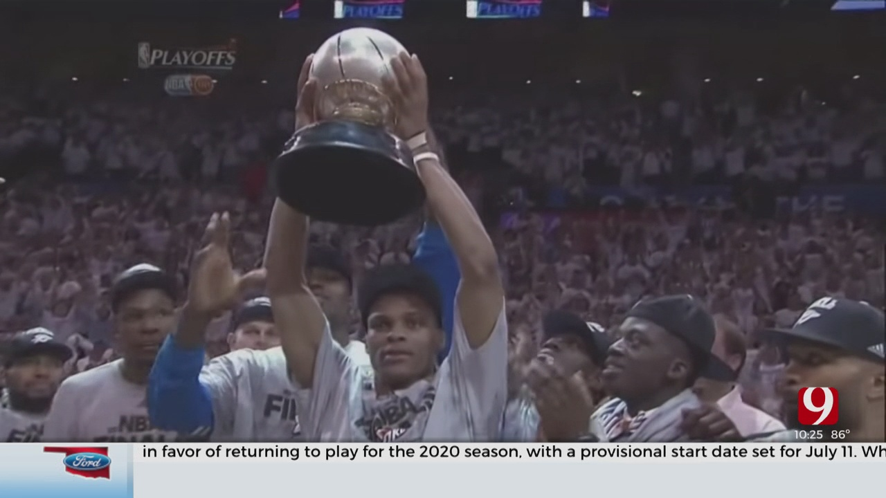 On This Date: Thunder Advance To 1st NBA Finals Appearance In Oklahoma