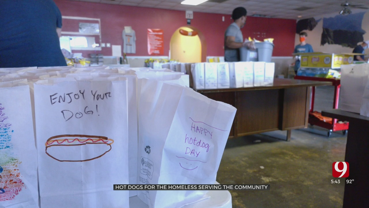 Oklahoma Together: Hot Dogs For The Homeless
