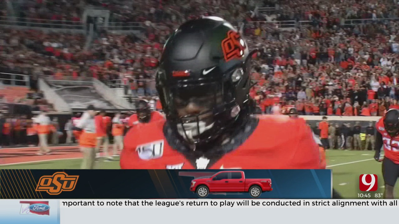 Three Oklahoma State Football Players Test Positive For COVID-19
