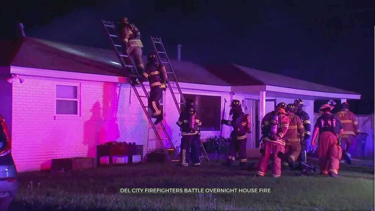Firefighters Investigate Cause Of Del City House Fire That Sent 1 To Hospital
