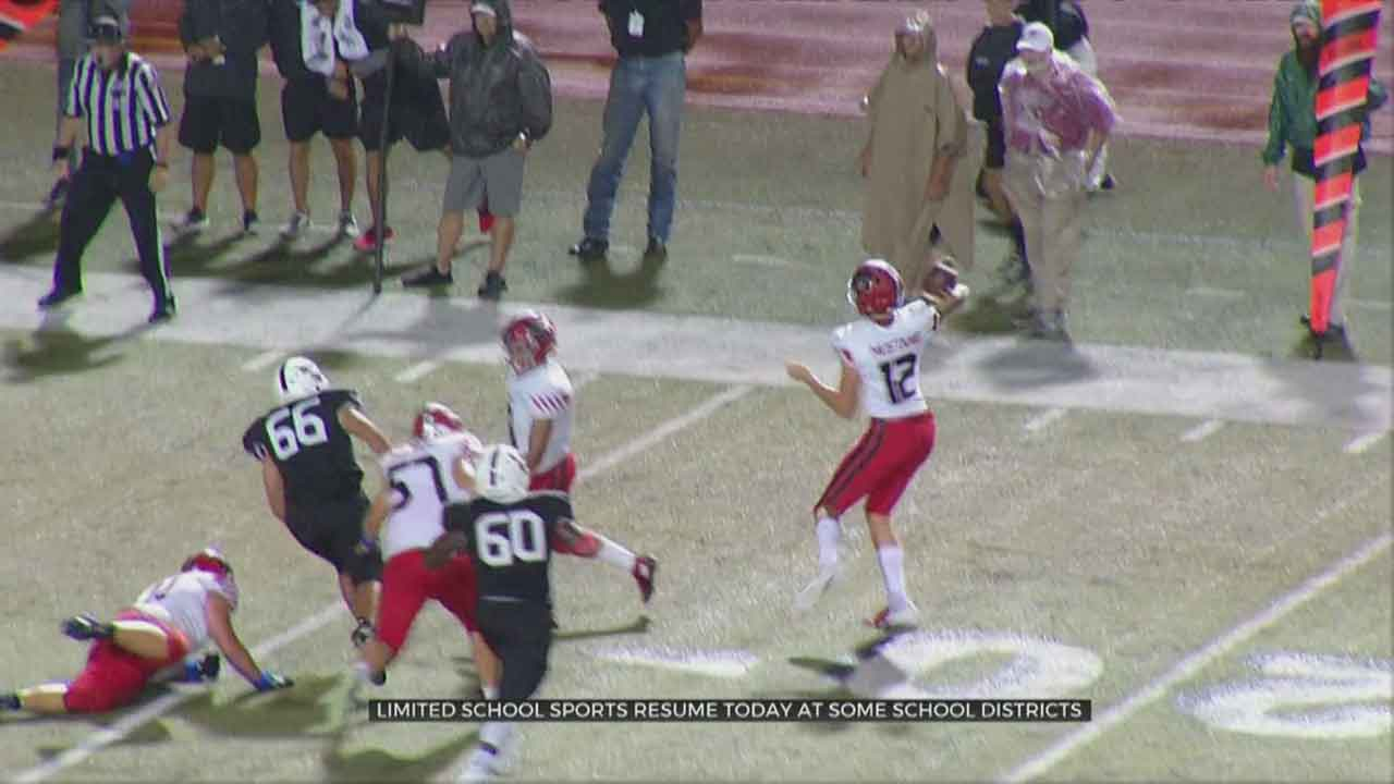 Limited School Sports Resume At Some OKC Metro School Districts