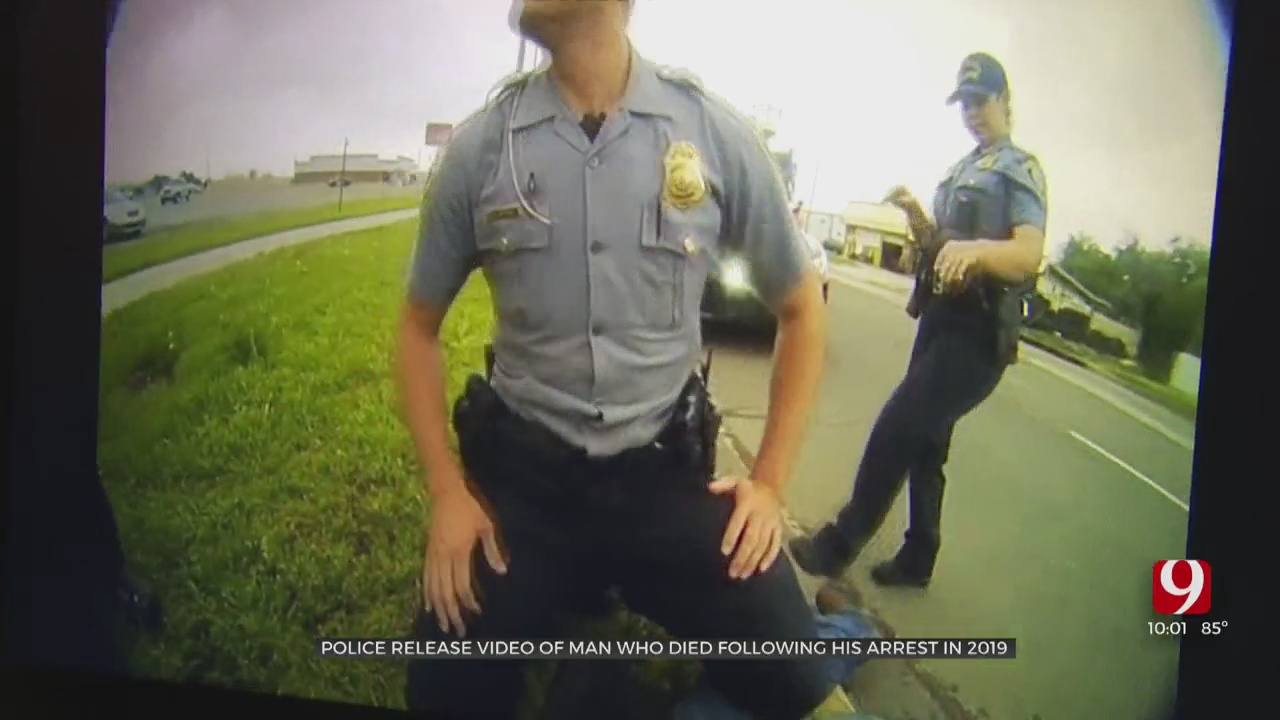 Police Release Video Of Man Who Died Following His Arrest In 2019