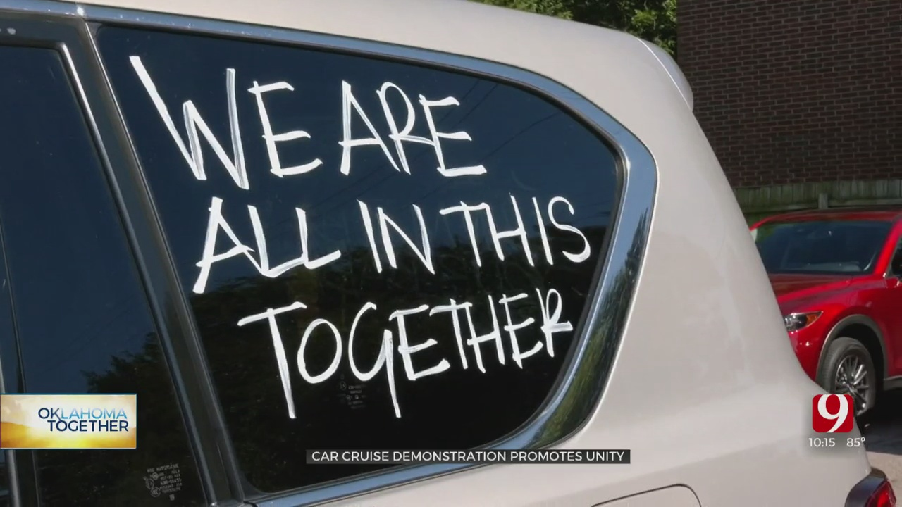 Love, Inclusion Highlighted At Downtown OKC Car Cruise