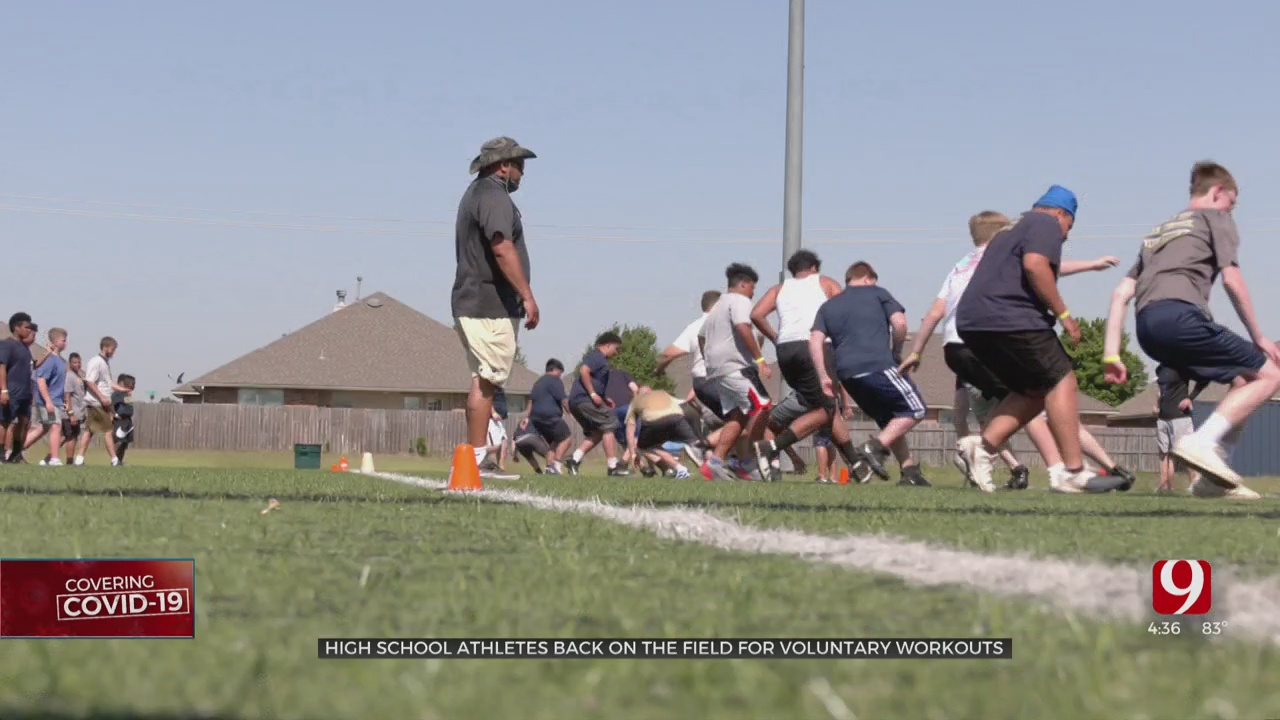 High School Athletes Get Back On The Field