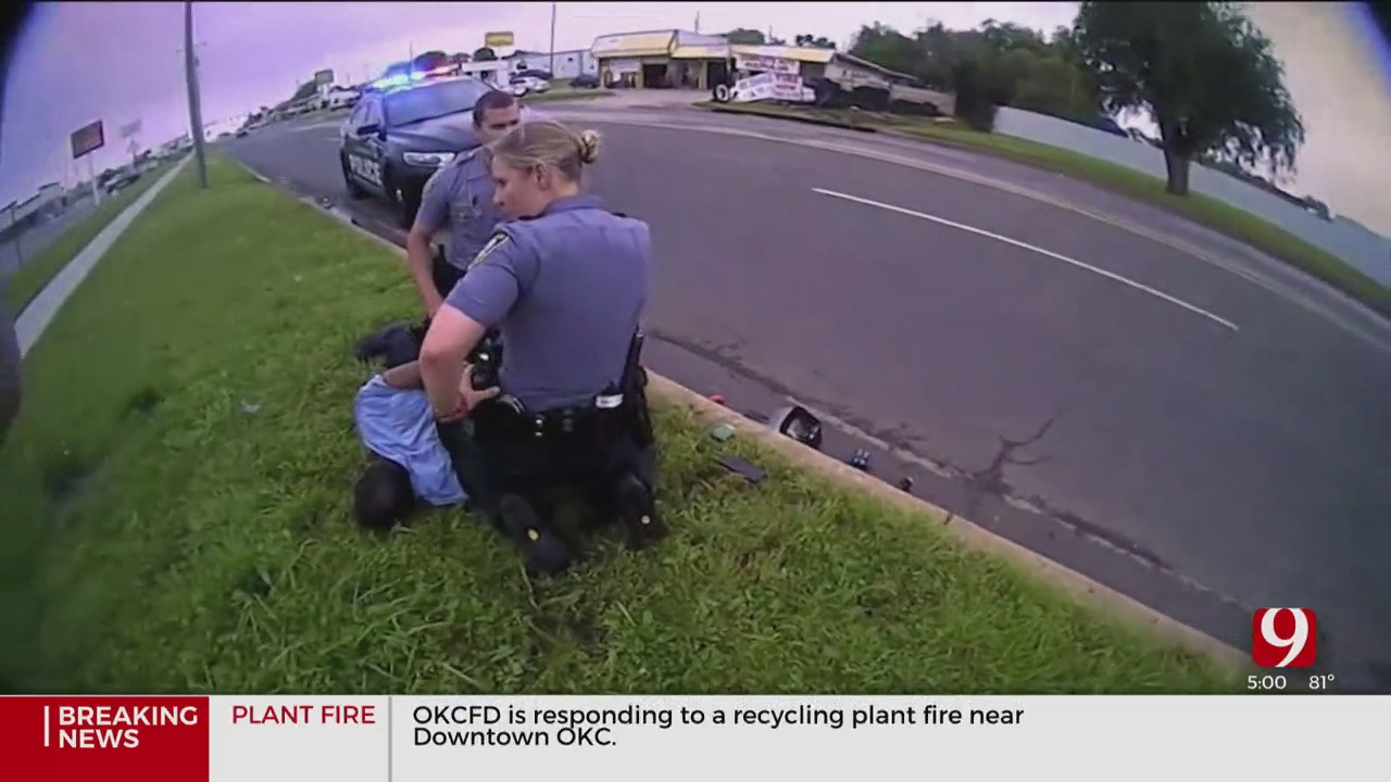 'I Can't Breathe; Help Me, Jesus': OKC Mother Responds After Watching Bodycam Video Of Son's In-Custody Death