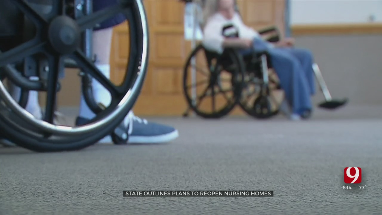 State Outlines Plans To Reopen Nursing Homes