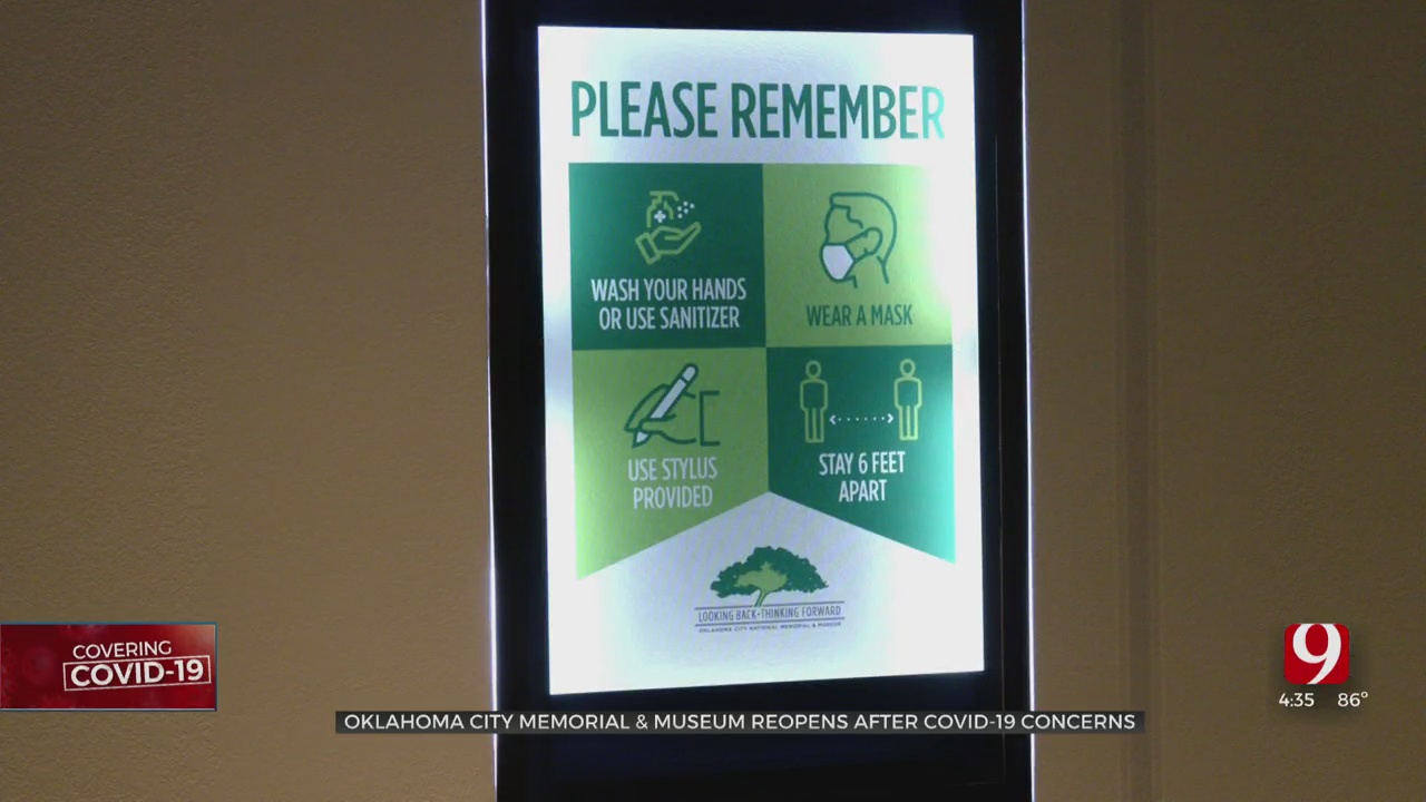 Oklahoma City Memorial & Museum Reopens With Changes Due To COVID-19