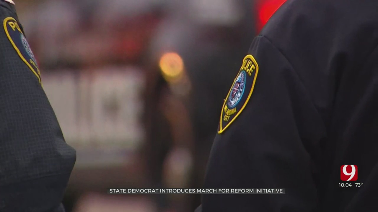 Lawmakers Announce Initiative For Law Enforcement Reform In Oklahoma