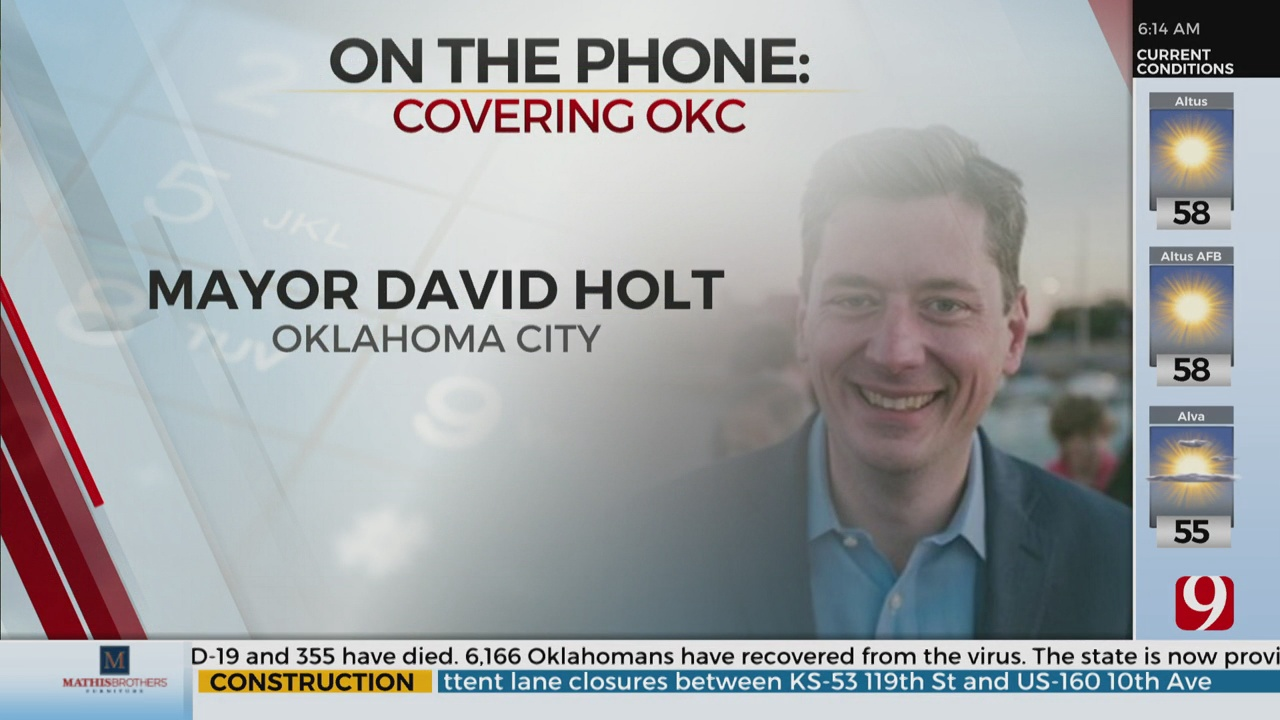 Watch: OKC Mayor David Holt On Black Lives Matter Demands