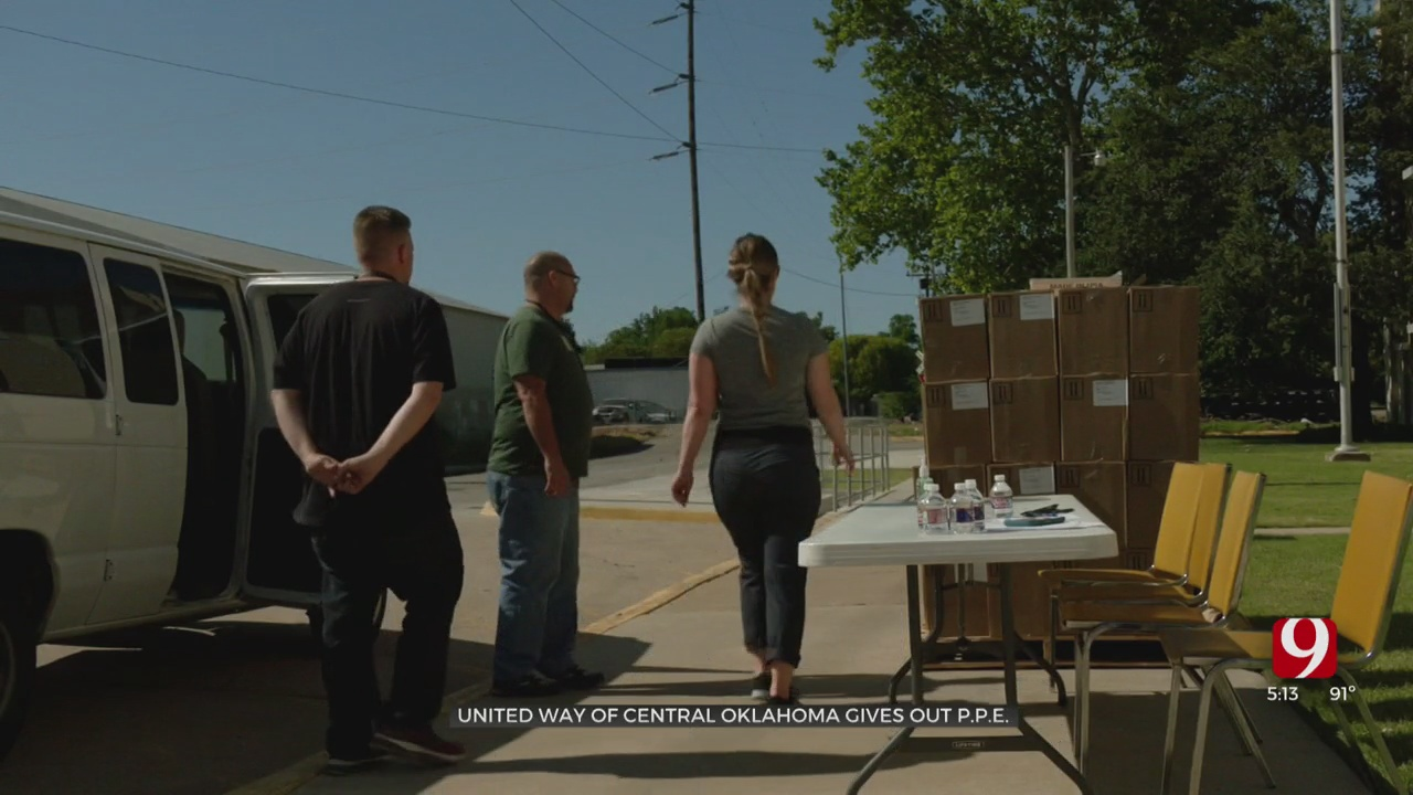 United Way Of Central Oklahoma Partners Up With New View To Give Out PPE