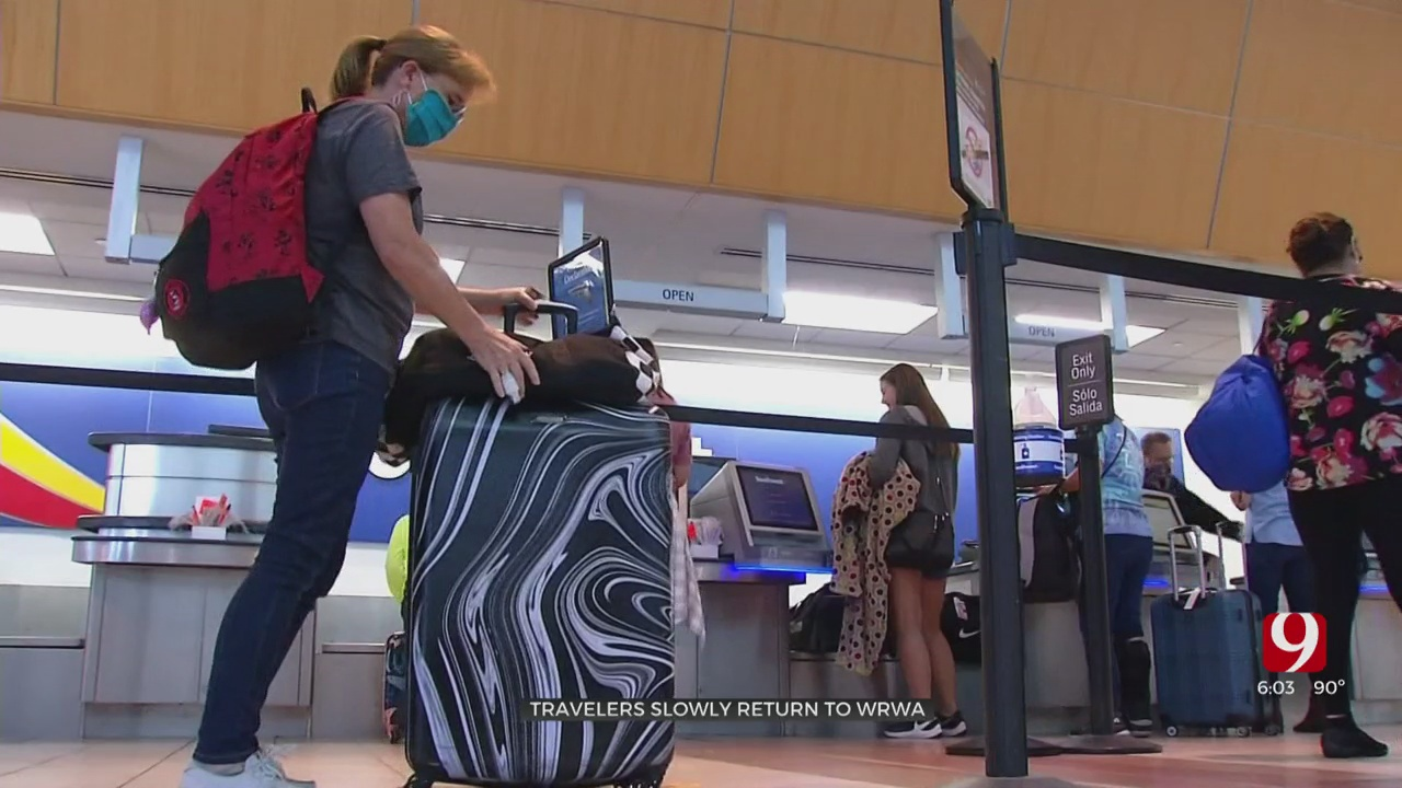 Travelers Slowly Returning To Will Rogers World Airport