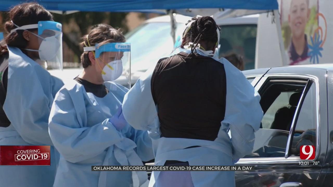 Coronavirus In Oklahoma: Health Dept. Reports Largest Single-Day Increase
