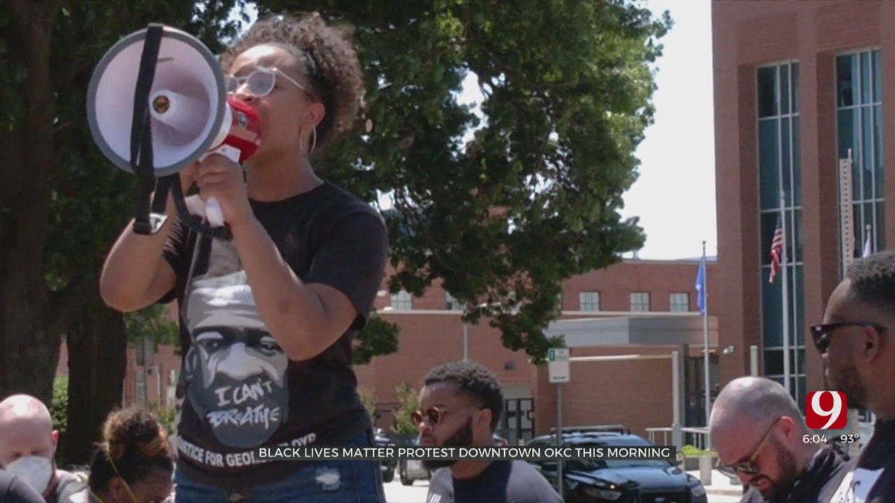 BLM Issues New Demands In Downtown OKC March