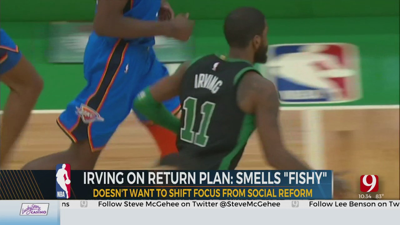 The Latest On The NBA's Return Plan With Thunder Reporter Steve McGehee