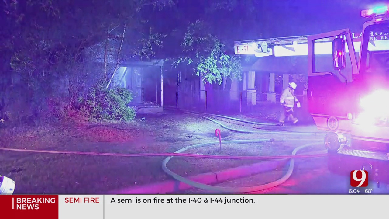 NW OKC Home Total Loss After Early Morning House Fire
