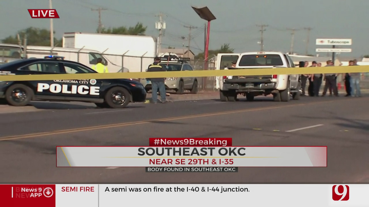 Police Respond To Deadly Hit-And-Run Crash In SE OKC