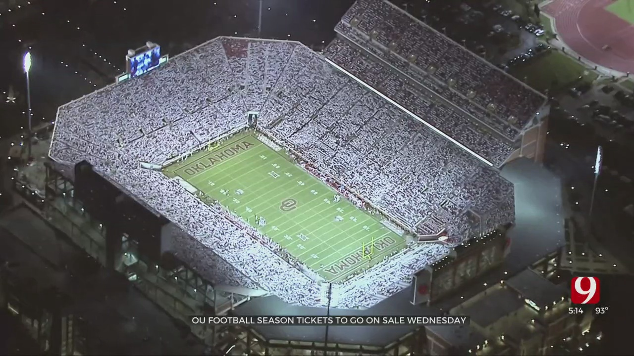 City Of Norman Banking On OU Fans In The Stands