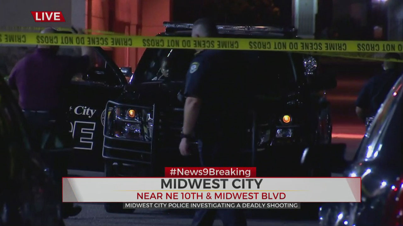 Police Investigate Homicide In Midwest City