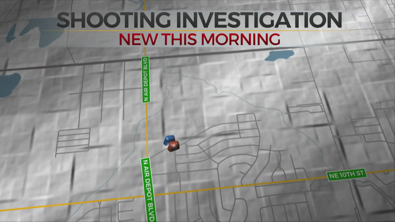 Woman Shot In Car Overnight In Midwest City