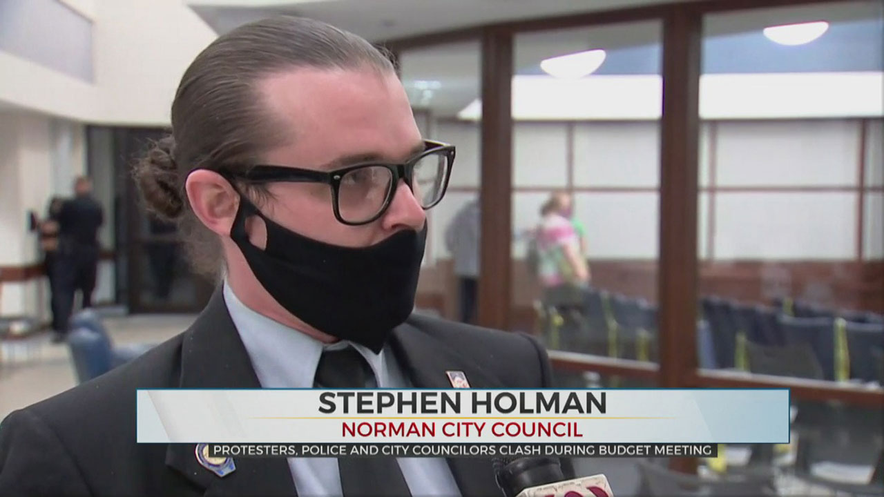 Watch: Councilman Stephen Holman On 11 Hour Norman City Council Meeting