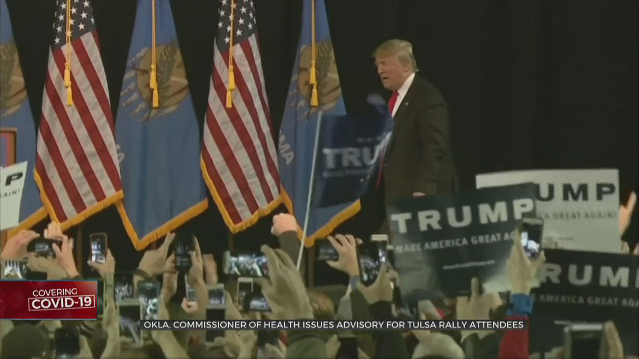 Okla. Commissioner Of Health Issues Advisory For Tulsa Trump Rally Attendees