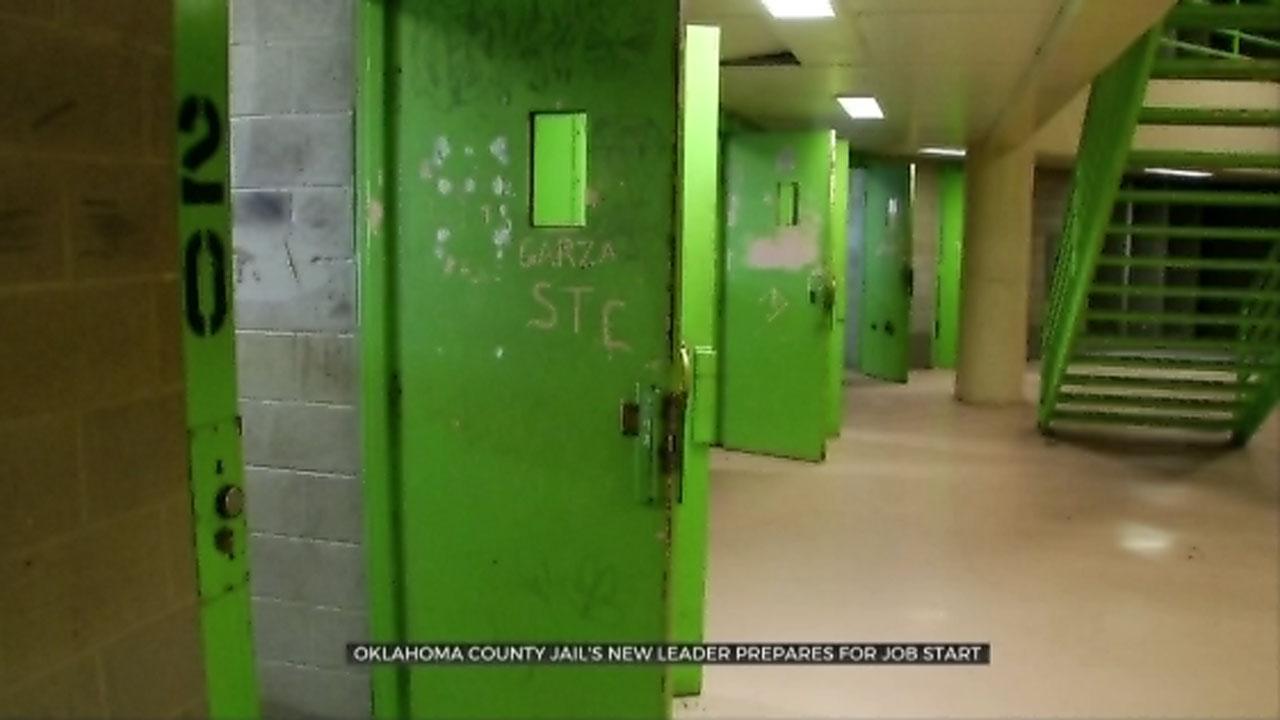 Oklahoma County Jail's New Leader Prepares For Job Start