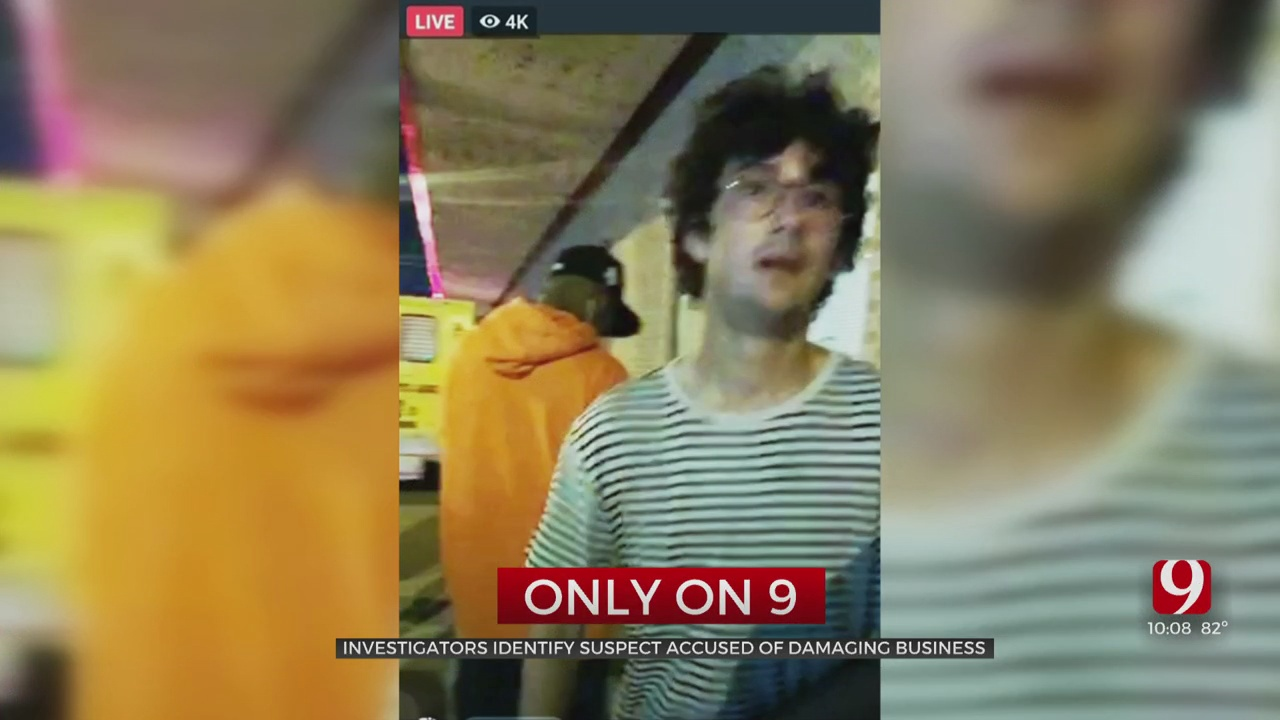 Suspect Identified, Wanted For Destruction & Inciting A Riot, Investigators Say