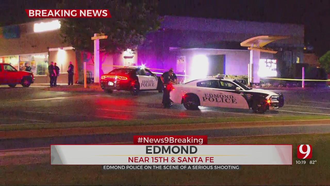 1 Victim Shot Near Edmond McDonald's