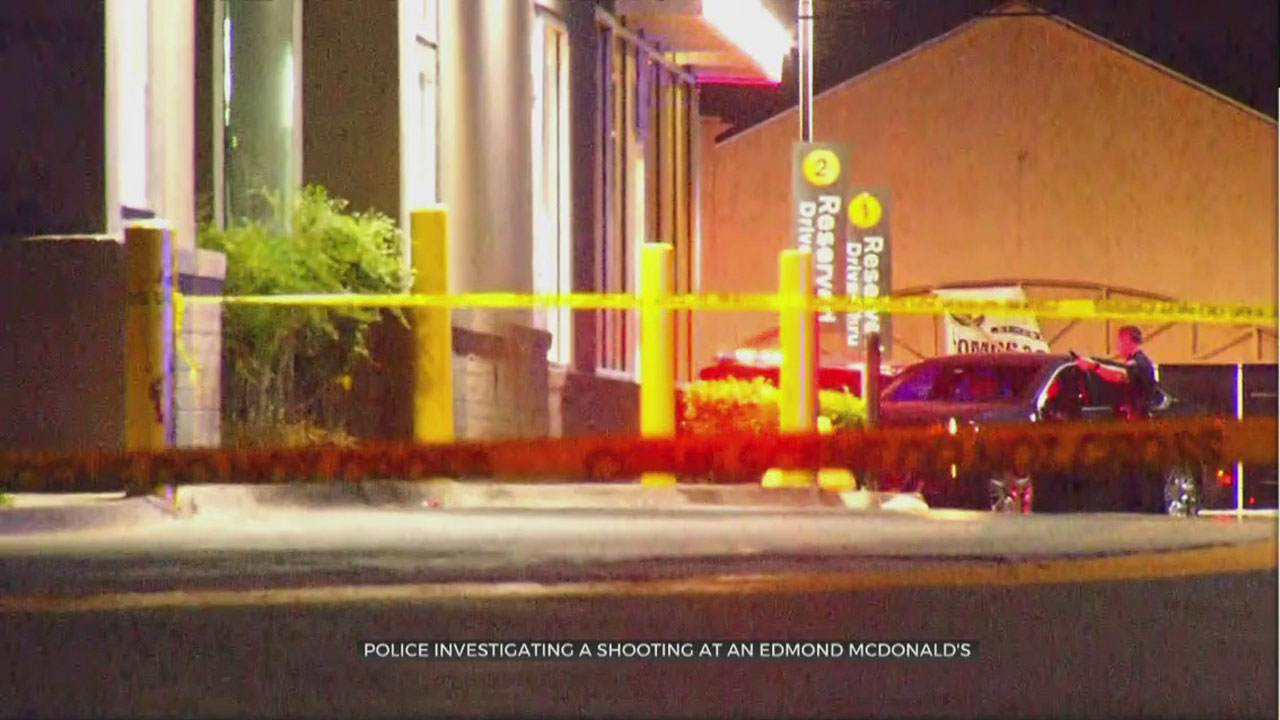 1 Taken To Hospital Following Shooting At Edmond McDonald's