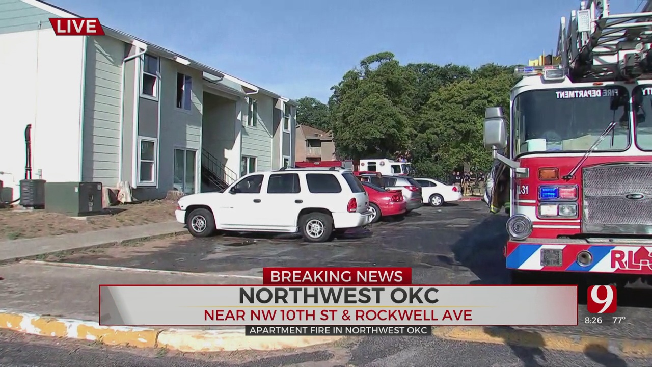 Fire Extinguished At NW OKC Apartment Complex