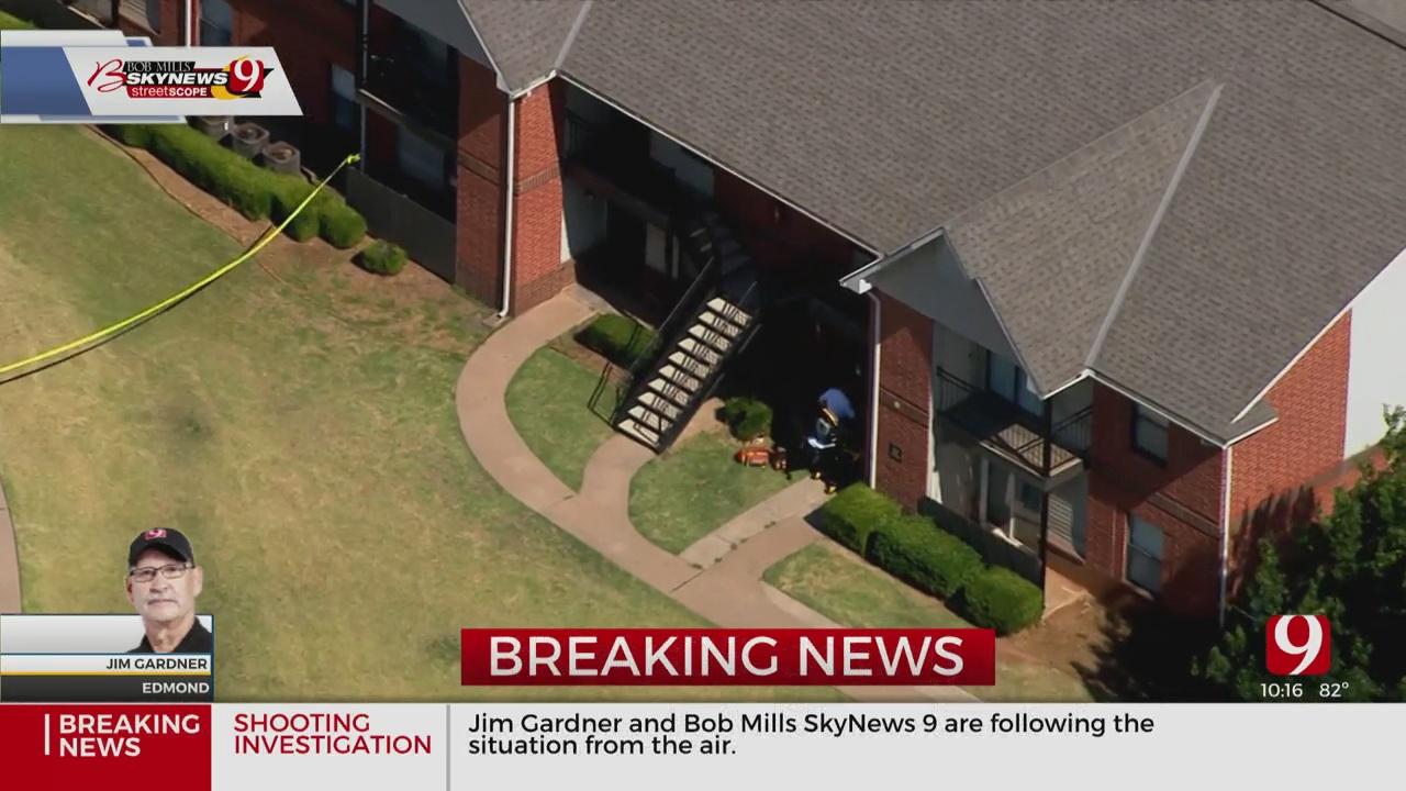 1 Female Victim Shot At Edmond Apartment Complex