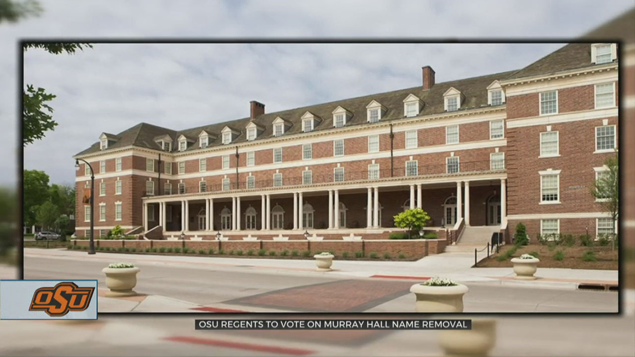 OSU Board Of Regents To Vote On Un-Naming Murray Hall