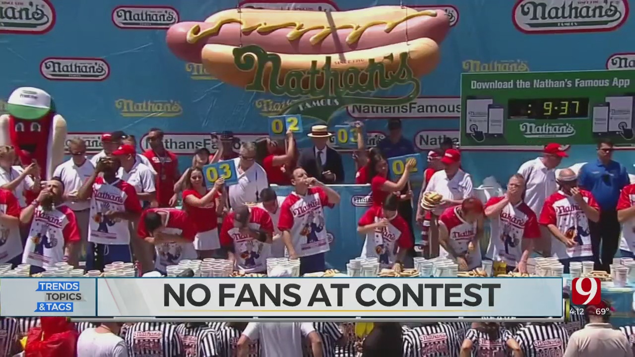 Trends, Topics & Tags: Famous Hot Dog Eating Contest