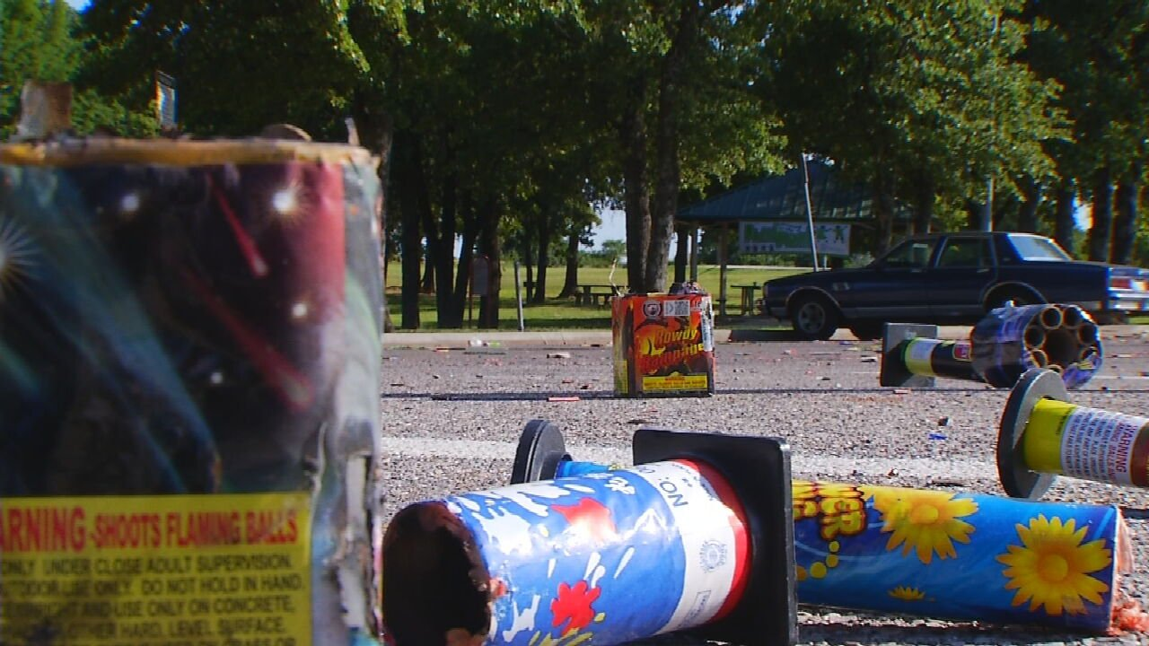 Oklahoma City Fire Department Issues Warning About Fireworks Inside City Limits