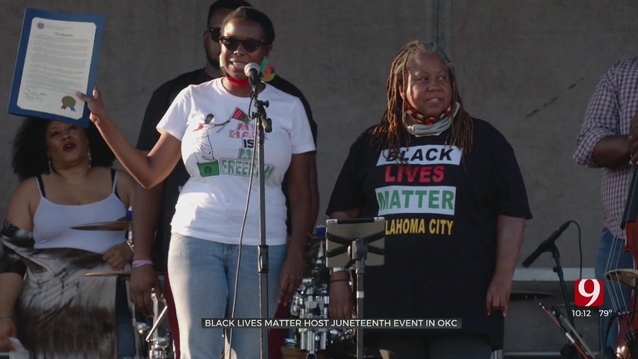 Black Lives Matter OKC Hosts Juneteenth Celebration
