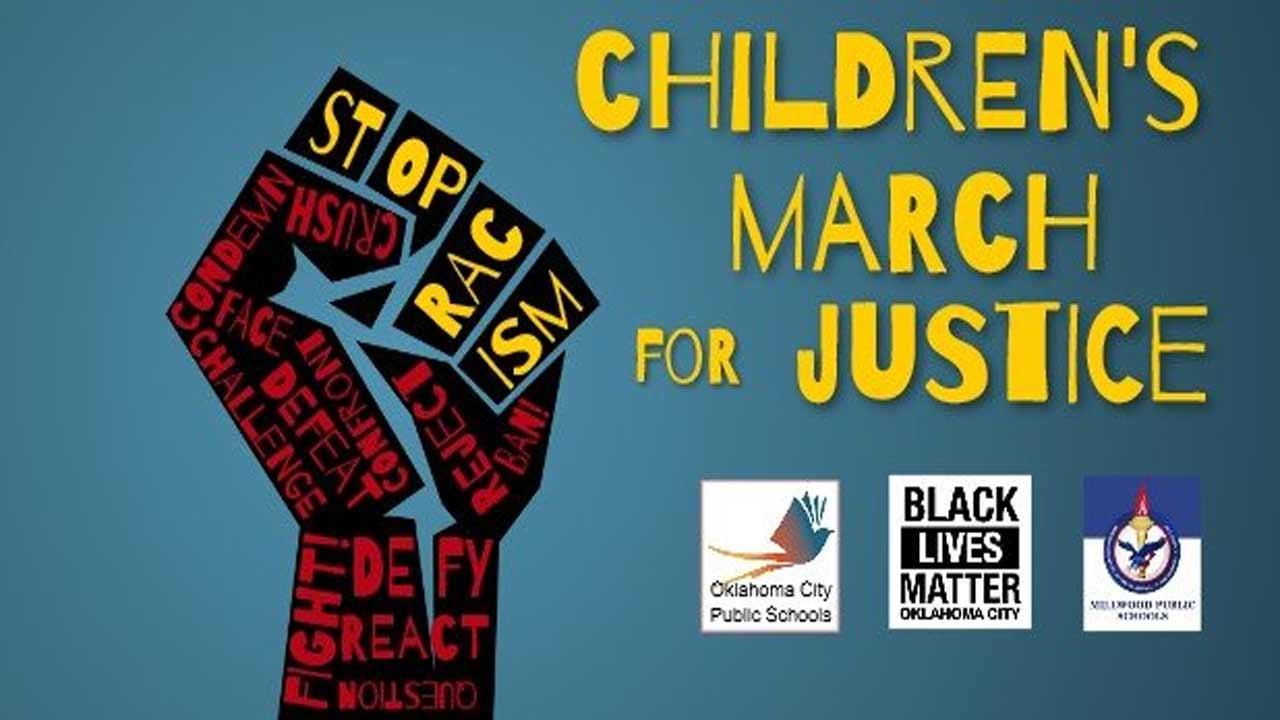 OKC Public Schools Sponsors 'Children's March For Justice'