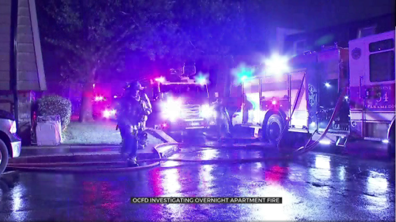 Several Units Destroyed In Overnight NW OKC Apartment Fire