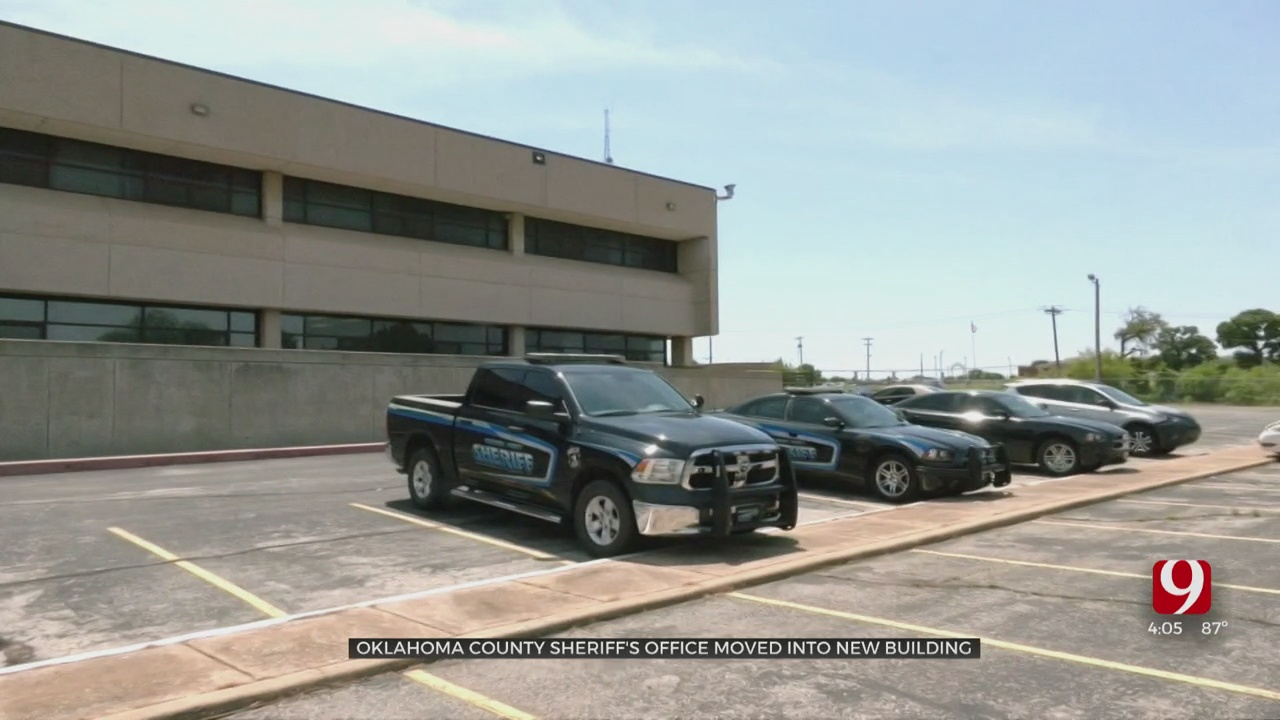 Sheriff's Office Exits Oklahoma Co. Jail, Moves To New Location