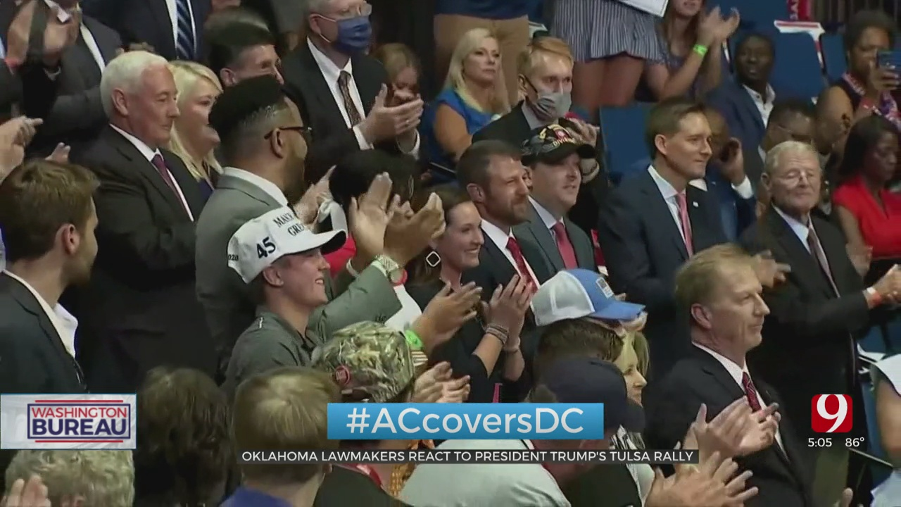 Oklahoma Lawmakers React To President Trump's Rally