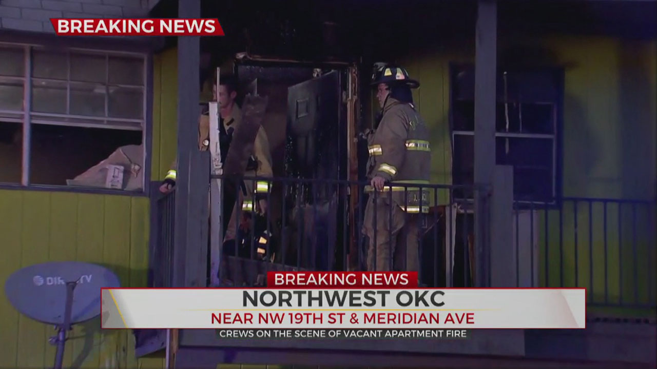 Firefighters Knock Down Fire At Vacant Apartment In NW OKC